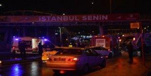 Polisleri taşıyan minibüs kaza yaptı: 3 yaralı