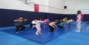 Çavdarhisar'da Judo Kursu