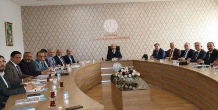 Kütahya'da İlçe Millî Eğitim Müdürleri toplantısı