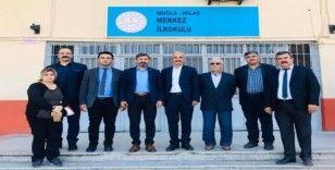 Uçak'tan Milas'ta görev yapan üyelere ziyaret