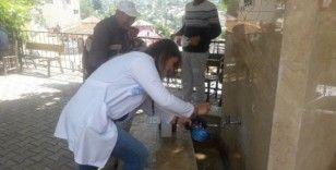 Gezici su analiz laboratuvarı ile ulaşılması zor bölgelerde yerinde analiz yapılıyor