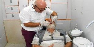 Gezici diş sağlığı aracı her hafta kırsal mahalleleri dolaşıyor