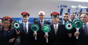 Çin'den Avrupa'ya giden yük treni Ankara'dan törenle uğurlandı