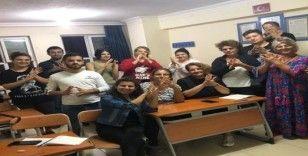 Burhaniye'de işaret dili kursu ilgi gördü