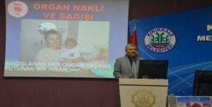 Kırıkkale Belediyesi personeline 'Organ Bağış Semineri'
