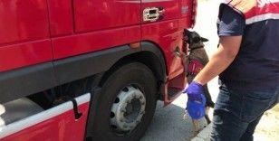 Avrupa'ya giden tıra operasyon: 102 kilo eroin ele geçirildi
