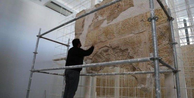 Hasankeyf Müzesi tarihi mihrapla ziyaretçilerini karşılayacak