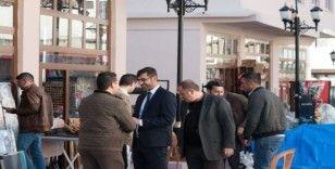 Başkan Tanğlay, çarşı esnafını ziyaret etti