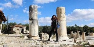 Bir adımla 2 bin 200 yıllık zaman yolculuğu