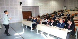 Üniversite personeline iç kontrol sistemi tanıtıldı