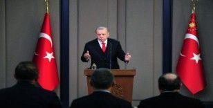 Cumhurbaşkanı Erdoğan'dan UEFA'ya tepki