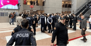 İstanbul Adalet Sarayı'nda 6. kattan atlayan şahıs hayatını kaybetti