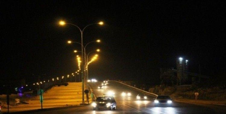 Çevik Kuvvet Köprülü Kavşağına bir milyon liralık aydınlatma yatırımı