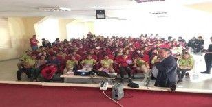 Mersin'de çocuklara 'çocuk hakları' eğitimi verildi