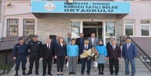Vali Yazıcı'dan 205. okul ziyareti