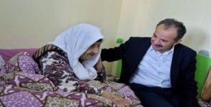 Başkan Kılınç, 102 Yaşındaki Fatma Teyzeye ziyaret