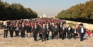 Mektebim, 4 bin öğrencisiyle Anıtkabir'de
