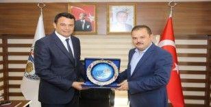 AK Partili Öz'den Ulutaş'a ziyaret