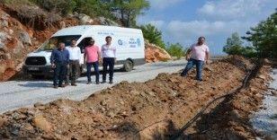 Alanya Cikcilli Mezarlığı'nın su sorununu çözüldü
