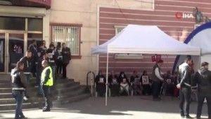 HDP önündeki evlat nöbeti 66'ncı gününde