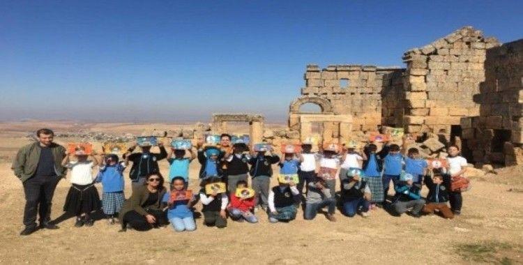 Öğrenciler Zerzevan Kalesi'ni gezdi