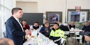 Başkan Ercengiz, otogar esnafının sorunlarını dinledi