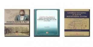 Atatürk Araştırma Merkezi yayınlarına 3 yeni eser daha eklendi