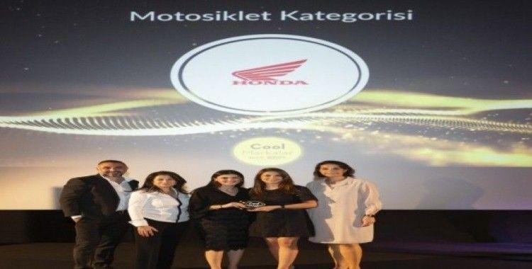 Honda Motosiklet Türkiye yılın en 'cool' markası seçildi