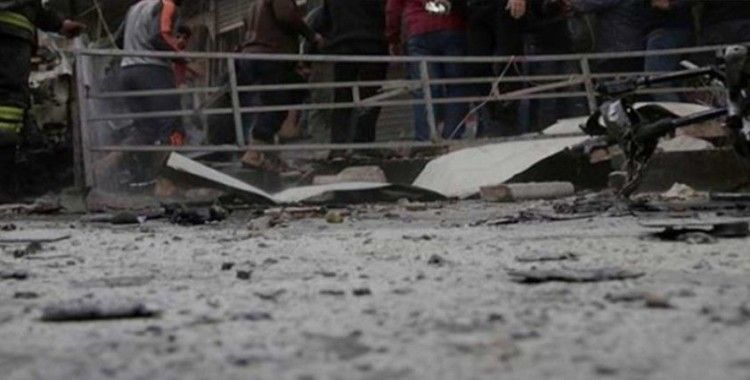 Çobanbey'de bomba yüklü araç patladı, 2 ölü