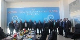 İran heyetinden Van OSB'ye ziyaret