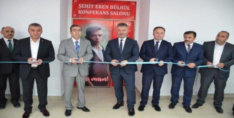 19 Mayıs'ta Şehit Eren Bülbül Konferans Salonu açıldı