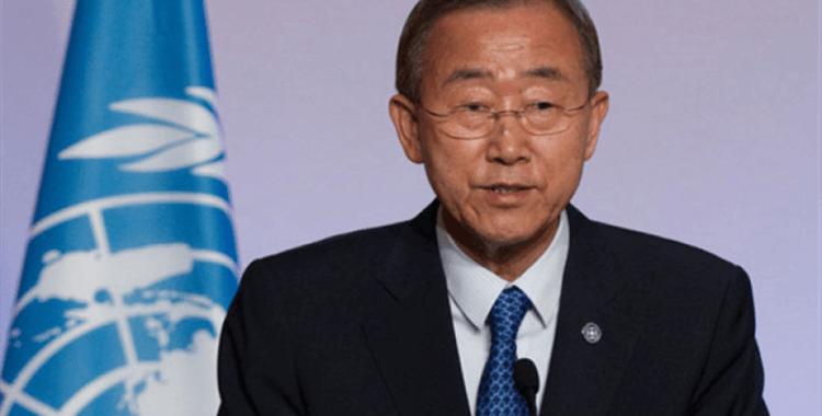 Ban Ki Moon: Suriye konusunda aldığı inisiyatiften dolayı Erdoğan'a saygı duyuyorum