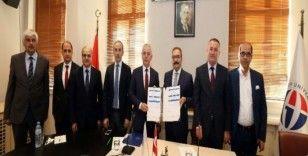 Gaziantep Üniversitesi ve Kuzey Makednya Vizyon Üniversitesi arasında akademik iş birliği anlaşması