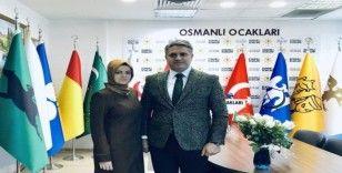 Osmanlı Ocakları'ndan Diyarbakır annelerine Yılın Cumhuriyet Kadını plaketi
