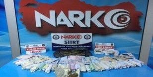 Siirt'te yakalanan uyuşturucu taciri tutuklandı