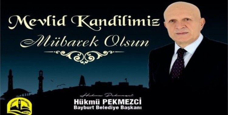 Başkan Pekmezci'den Mevlid Kandili mesajı