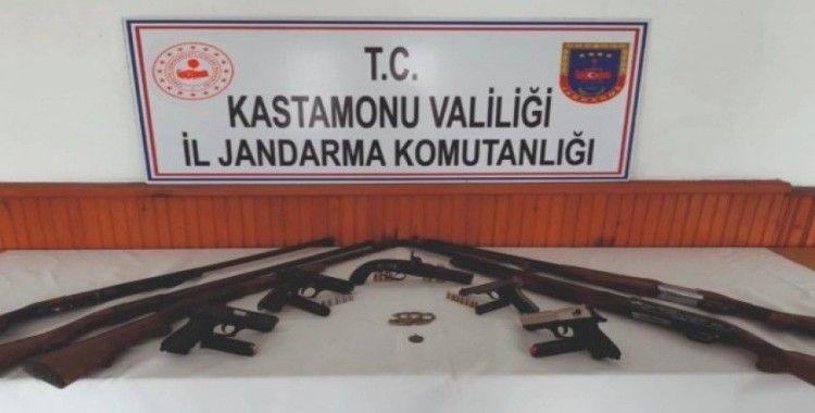 Kastamonu'daki silah kaçakçılığı operasyonunda 3 tutuklama