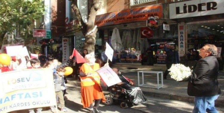 Malatya'da LÖSEV'den, farkındalık yürüyüşü