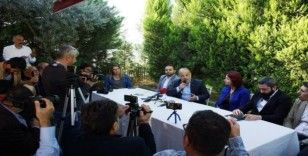 AK Partili Yavuz basın mensupları ile kahvaltıda buluştu