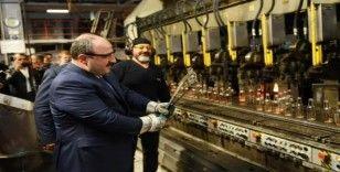 Sanayi ve Teknoloji Bakanı Varank, fabrikalarda inceleme yaptı