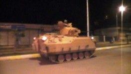 Ceylanpınar'a zırhlı araçlar sevk edildi