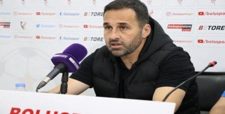 Boluspor - Bursaspor maçının ardından