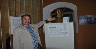 İtalyan sanatçının 89 yıllık Atatürk büstü müzede sergileniyor