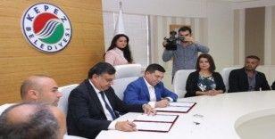 Kardeş belediyelerin işbirliği protokolü