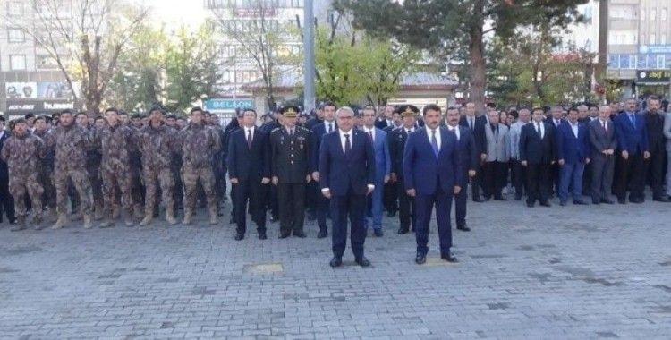 Muş'ta Atatürk'ü anma töreni