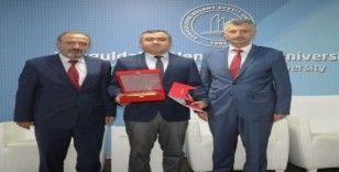 """ZBEÜ'de """"Yüksek Vasıflı Milli Çelik Üretimi ve Ekonomimizdeki Önemi"""" konferansı"""