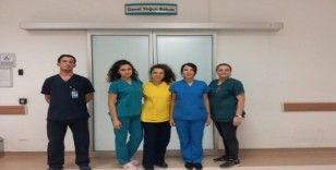 Pehlivanın organları 2 hastaya umut olacak