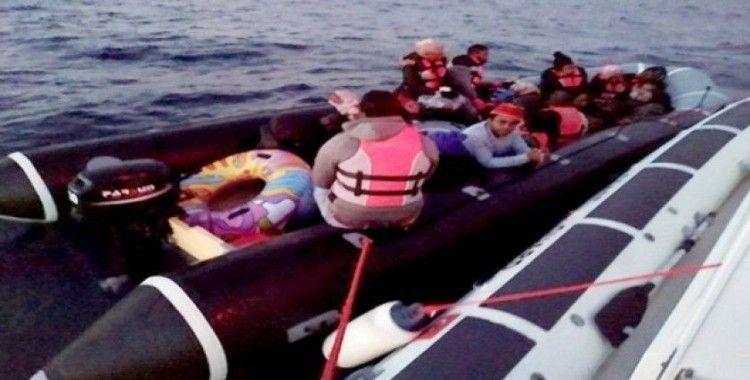Muğla'da 21 göçmen yakalandı
