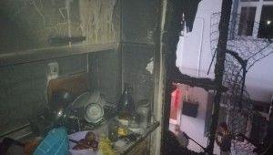 Kocaeli'de sabaha karşı çıkan yangından etkilenen 6 kişi hastaneye kaldırıldı