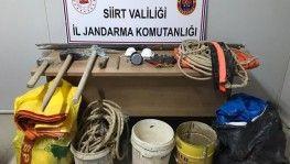 Siirt'te 'Kral mezarlığında' kazı yapanlar yakalandı